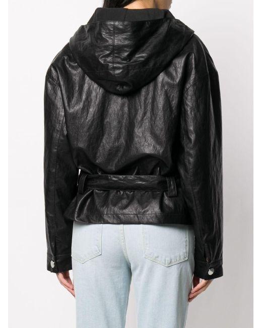 Куртка С Капюшоном Pinko, цвет: Black