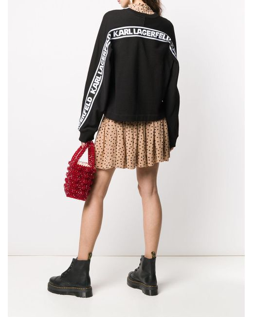 Толстовка Rue St Guillaume С Логотипом Karl Lagerfeld, цвет: Black