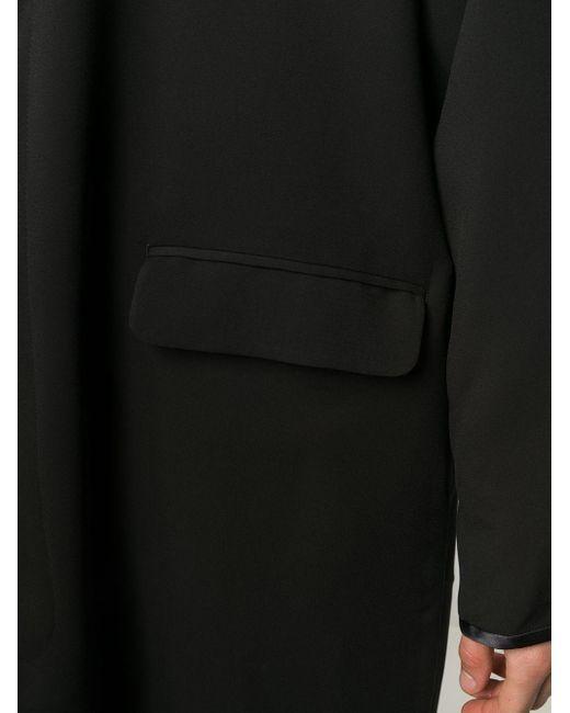 Cappotto oversize di Undercover in Black da Uomo