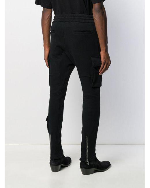 メンズ Htc Los Angeles カーゴパンツ Black