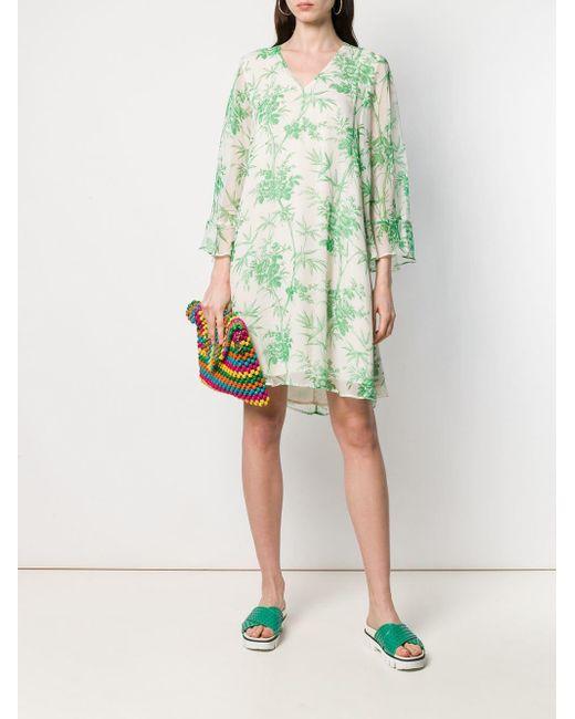 Antwerp In Green Essentiel Lyst Dress Silverlyn 76bfyg