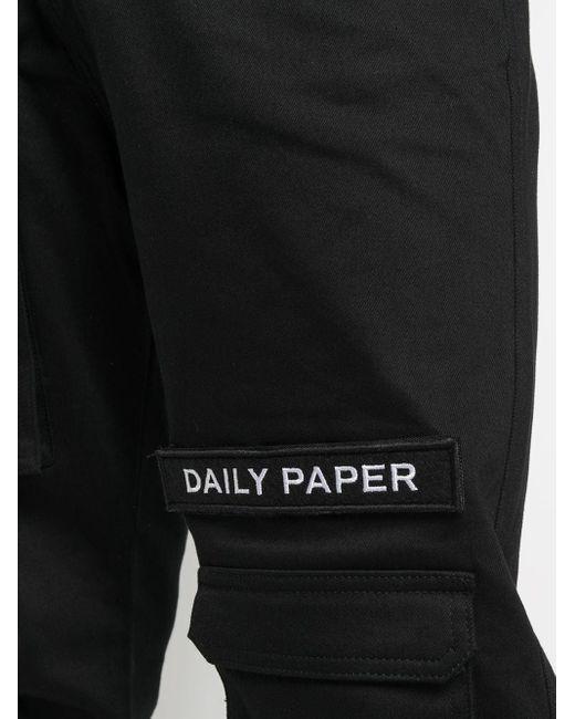 メンズ Daily Paper スリムパンツ Black