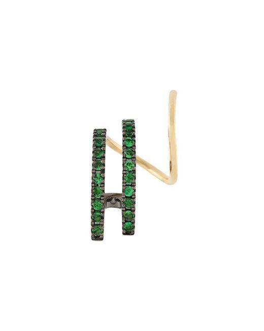 Maria Black - Metallic Bess Vert Twirl Tsavorite Earring - Lyst