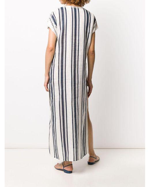 Tory Burch ストライプ ドレス White