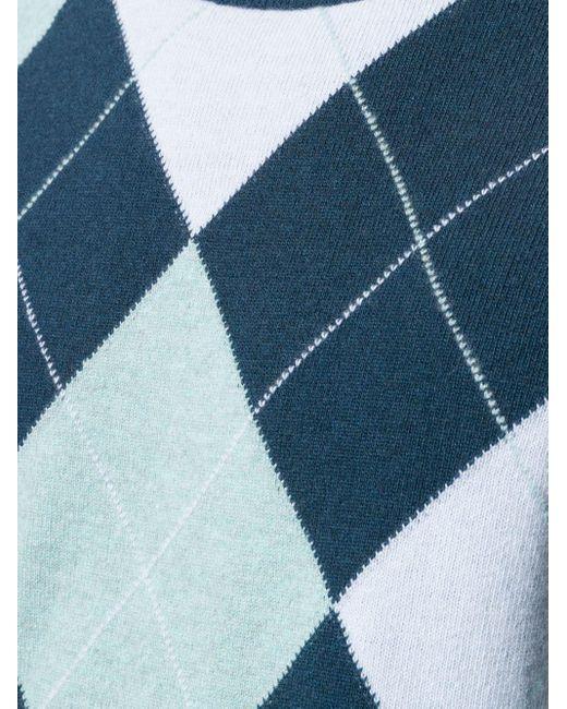 メンズ Pringle of Scotland クルーネックセーター Blue