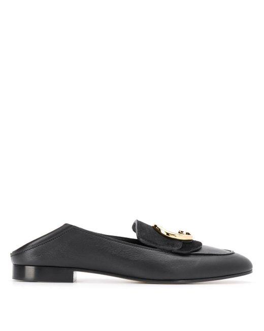 Chloé Loafers in het Black