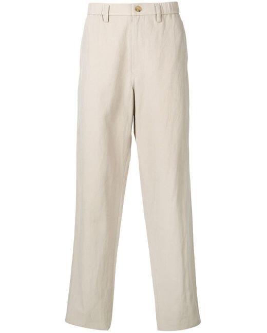 Pantalon de costume ample Issey Miyake pour homme en coloris Natural