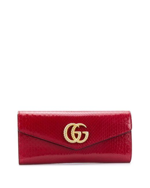 Gucci ダブルg クラッチバッグ Red