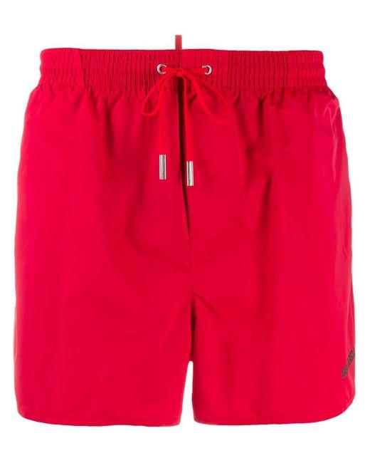 Плавки-шорты С Логотипом DSquared² для него, цвет: Red