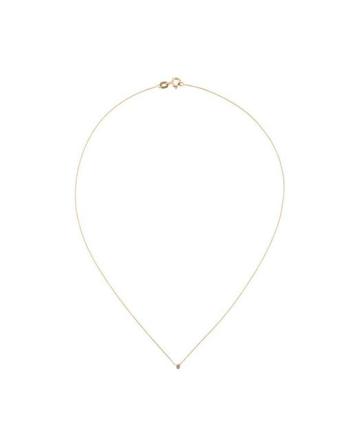 Wouters & Hendrix | Pink Single Champagne Diamond Short Necklace | Lyst