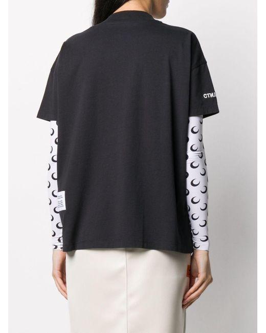 Heron Preston ロゴ Tシャツ Black
