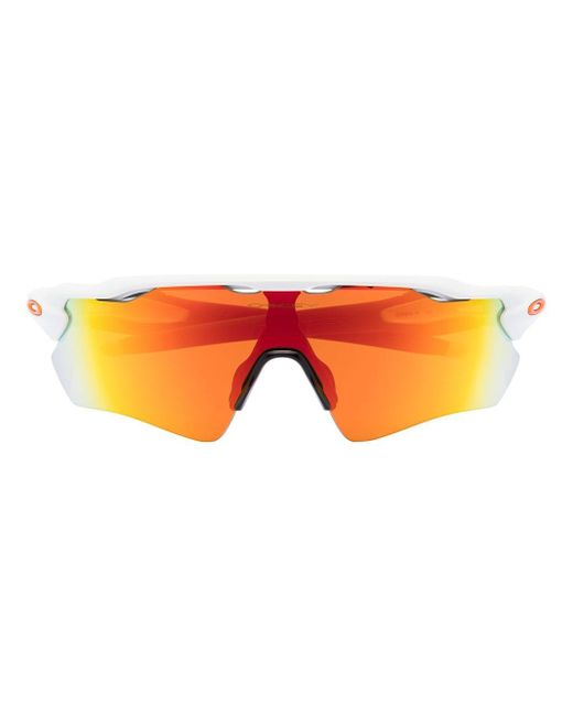メンズ Oakley Radar Ev Path サングラス White