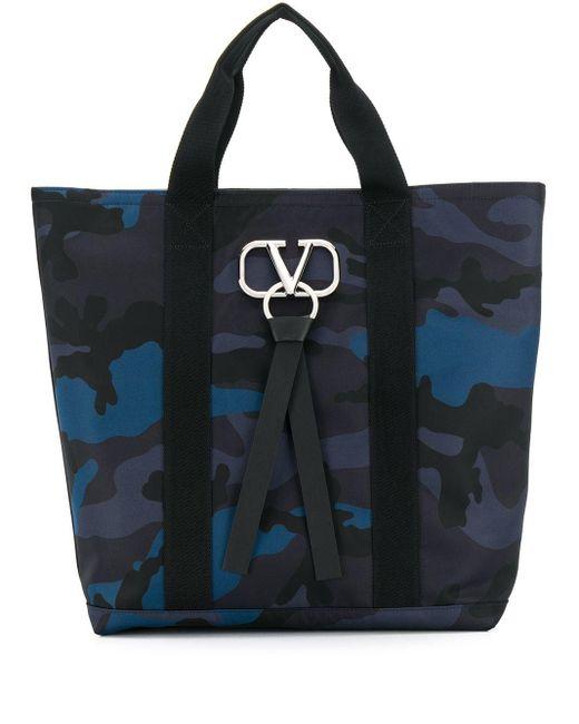 メンズ Valentino Garavani Vリング ハンドバッグ Multicolor