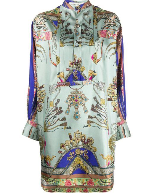 Etro プリント シャツドレス Multicolor