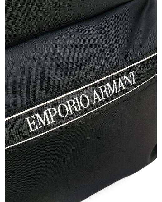 Рюкзак На Молнии Emporio Armani для него, цвет: Black