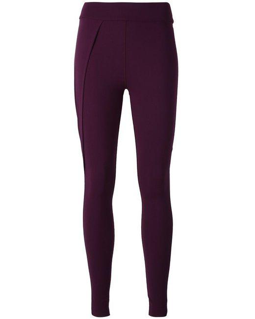 No Ka 'oi - Purple Pleat Detail Leggings - Lyst
