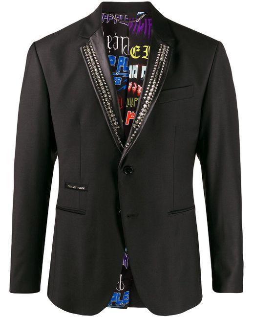 メンズ Philipp Plein テーラードジャケット Black