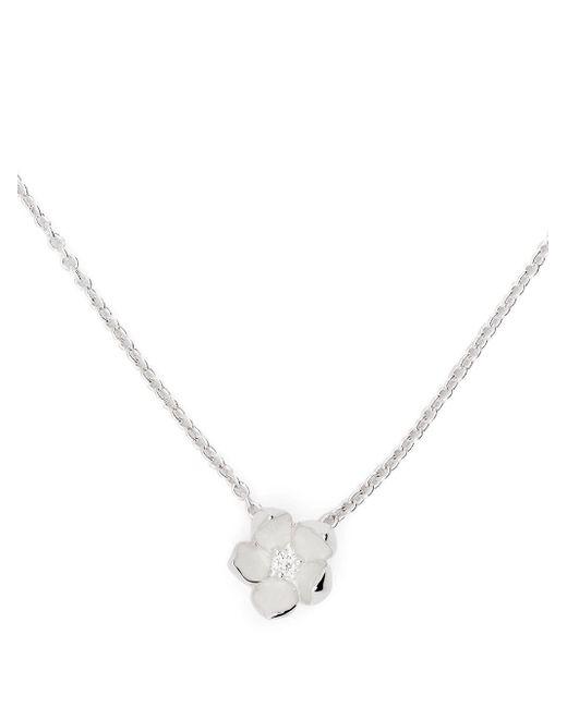 Collier à pendentif en diamants Shaun Leane en coloris Metallic