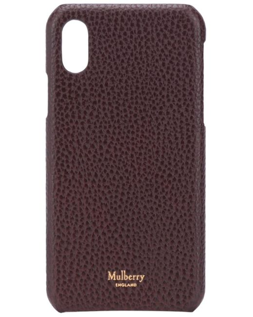 Mulberry Iphone X/xs ケース Red