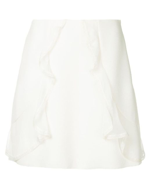 See By Chloé ラッフル スカート White
