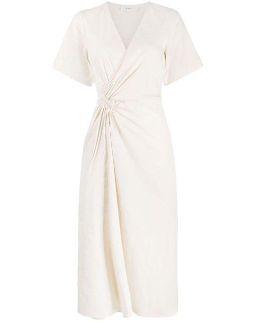 A.L.C. ラップスタイル ドレス White