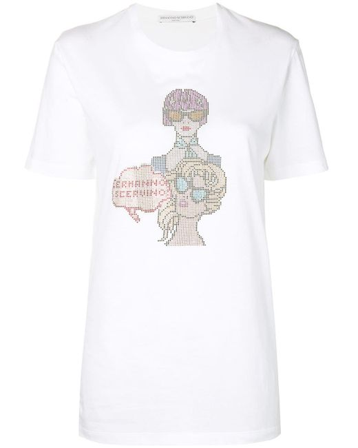 Ermanno Scervino デコラティブ Tシャツ White