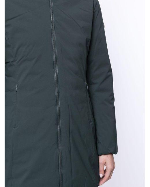 Save The Duck Green Gefütterter Mantel