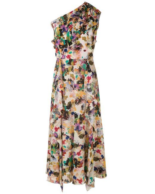 Andrea Marques ラッフル ドレス Multicolor