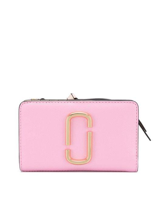 Marc Jacobs Snapshot ファスナー財布 Pink