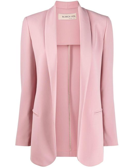 Blanca Vita オープン ジャケット Pink