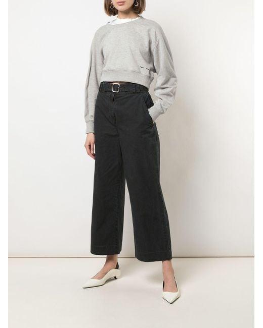 PROENZA SCHOULER WHITE LABEL レイヤード スウェットシャツ Gray