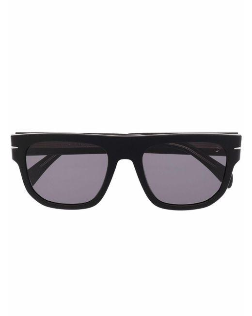 メンズ Eyewear by David Beckham スクエアフレーム サングラス Multicolor
