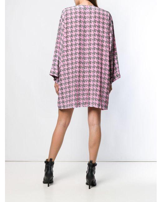 Robe courte oversize Natasha Zinko en coloris Black