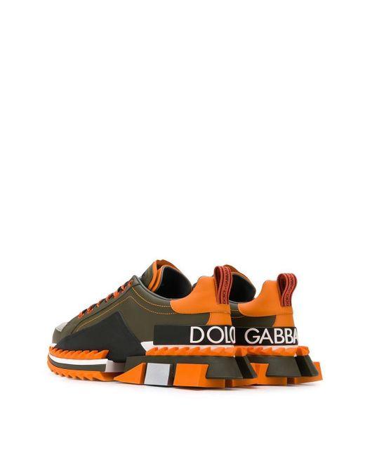 Кроссовки Super King Dolce & Gabbana для него, цвет: Green