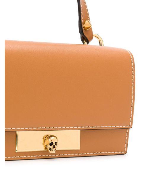 Мини-сумка С Декором Skull Alexander McQueen, цвет: Multicolor