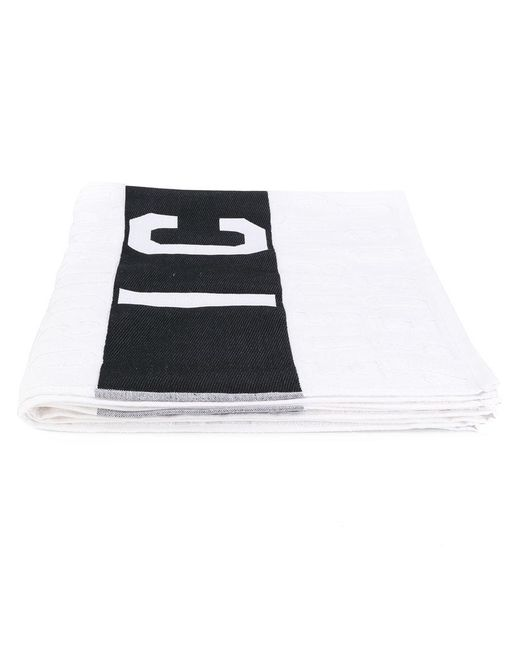 DSquared² - White Icon Beach Towel for Men - Lyst