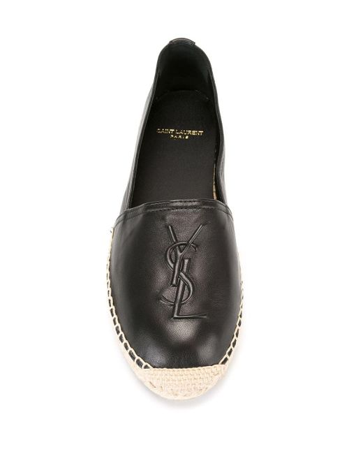 Эспадрильи Monogram Saint Laurent, цвет: Black