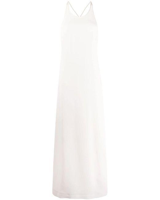 Jil Sander ロング スリップドレス White