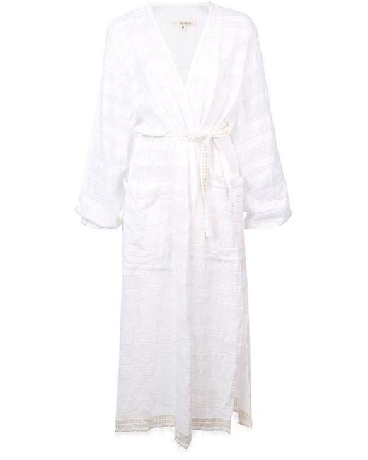 Lemlem Kelali ローブドレス White