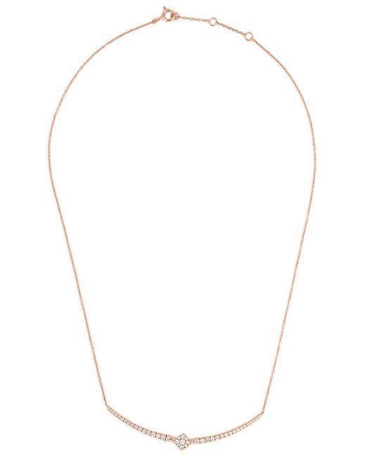 AS29 Mye ダイヤモンド ネックレス 18kローズゴールド Multicolor