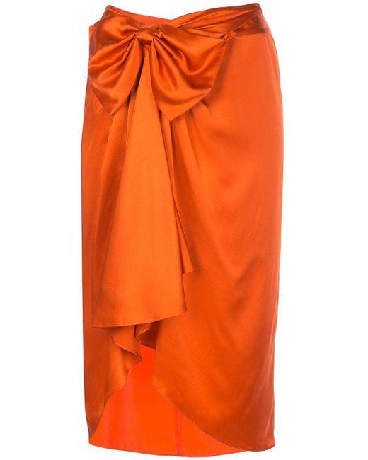 Cinq À Sept Emma スカート Orange