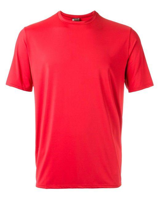 メンズ Lygia & Nanny ラウンドネック Tシャツ Red