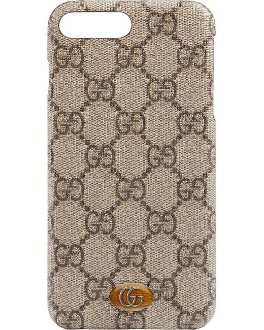 Gucci オフィディア Iphone 8 Plus ケース Brown