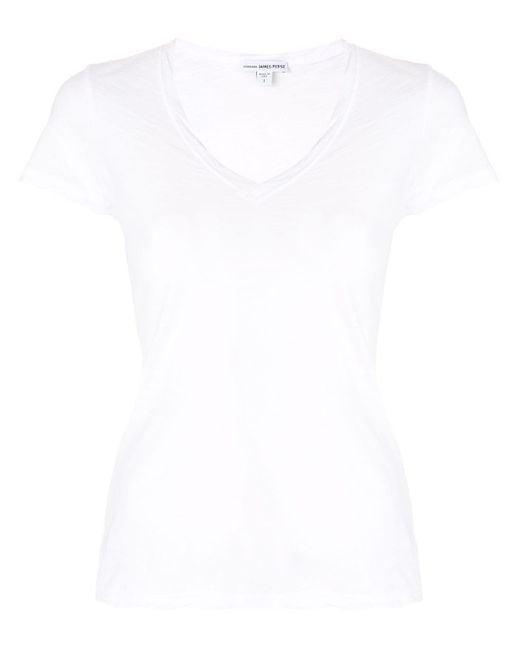 James Perse シアーtシャツ White