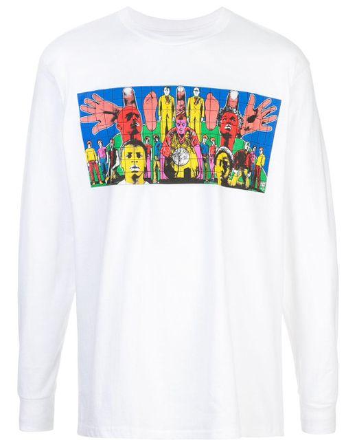 メンズ Supreme Gilbert & George Death Tシャツ White