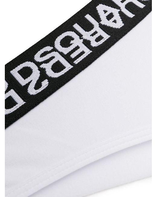 DSquared² ロゴ ショーツ White
