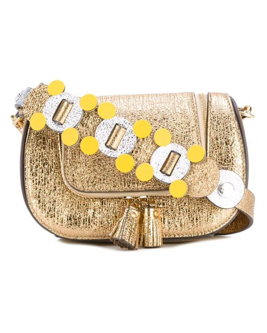 Anya Hindmarch Circulus Mini Vere 斜めがけバッグ Yellow