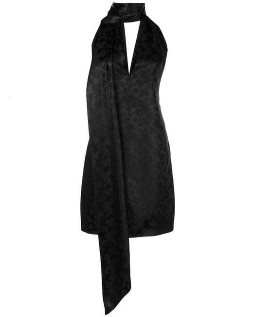 Givenchy フローラル ドレス Black