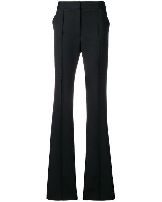 Stella McCartney テーラード フレアパンツ Black