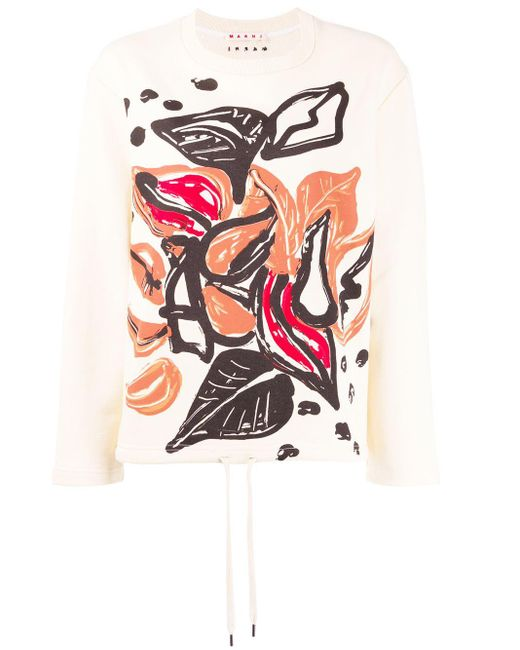 Marni グラフィック セーター Multicolor
